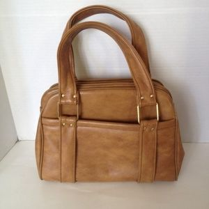 Vintage tan large  handbag